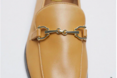 Butter yellow loafers go with jeans