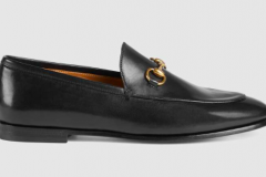 Black loafer goes with jeans