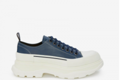 Chunky trainer goes with jeans