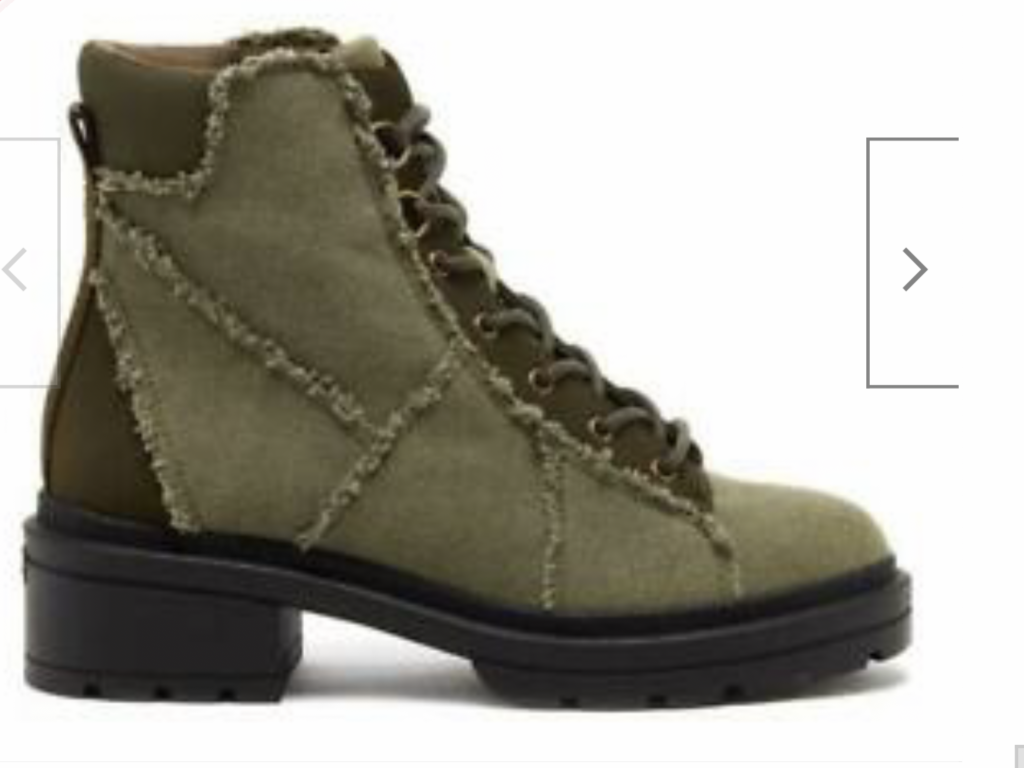 green canvas boots go with jeans