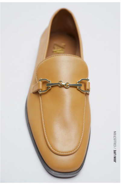 vanilla loafer goes with jeans