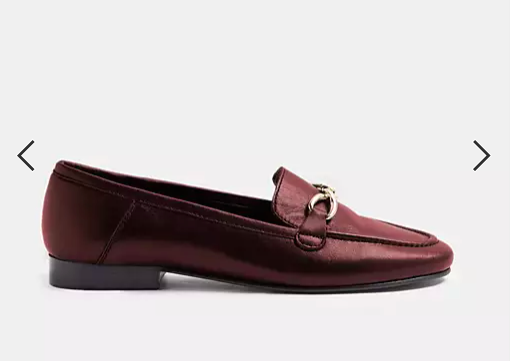 burgandy loafer goes with jeans