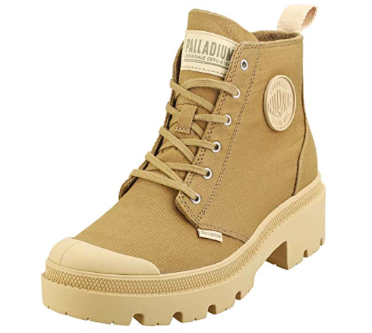 tan canvas boot goes with jeans